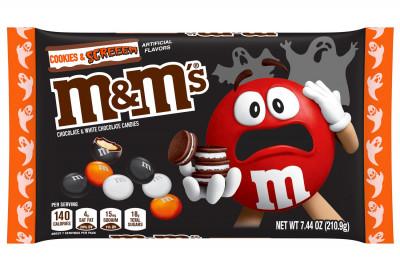 Halloween M&M Cookies and Screeem 7.44 oz. Bag