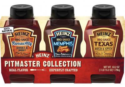 Набор соусов барбекю Heinz, 3 шт