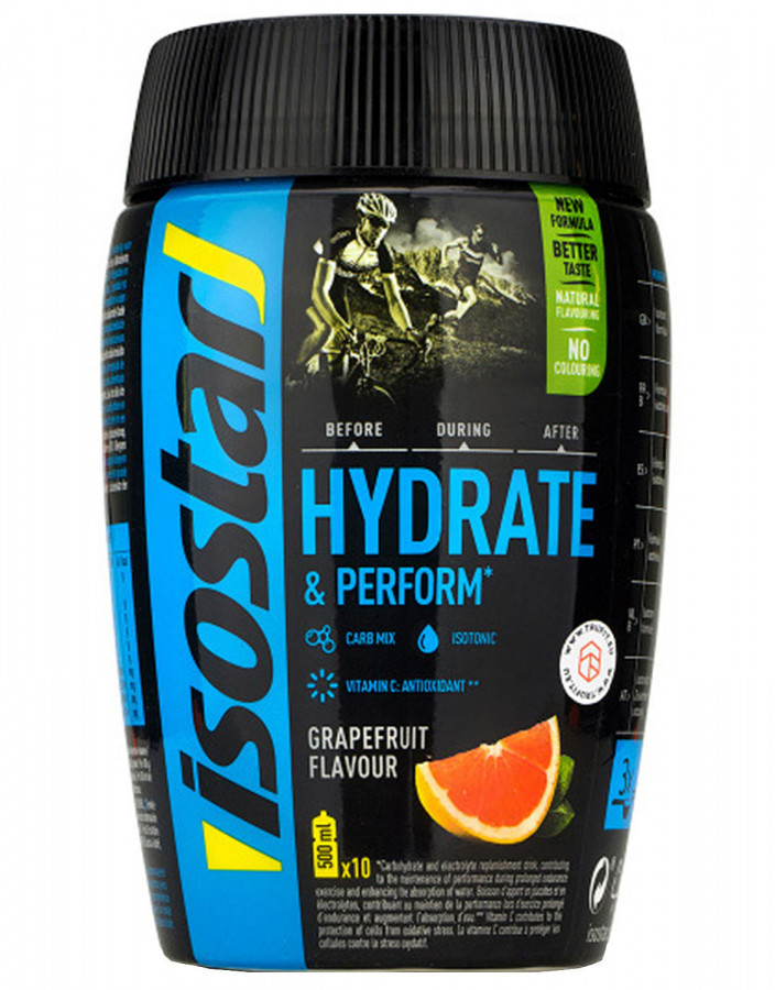Hydrate & Perform Grapefruit Isostar, 400g