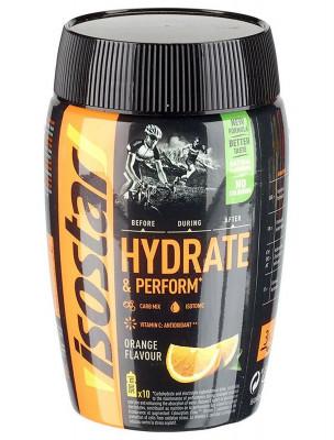 Энергетический напиток со вкусом апельсина Isostar, 400 г