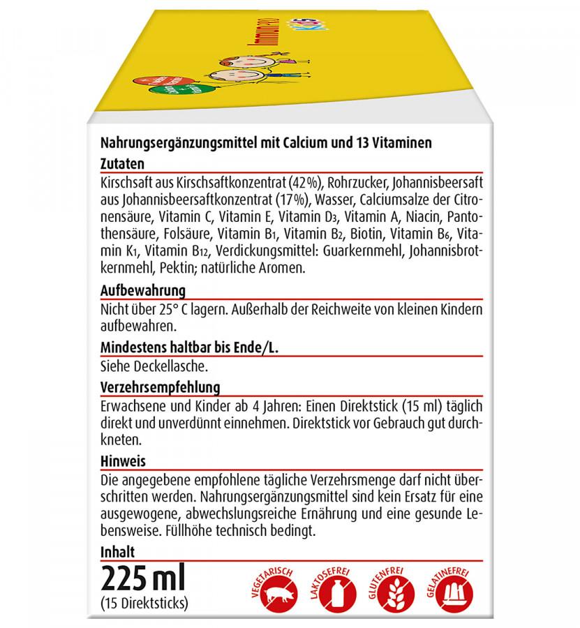 Жидкие витамины Hübner ImmunPRO для детей, 225 мл