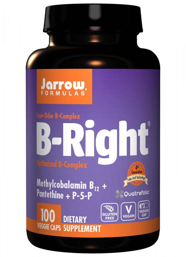 Комплекс витаминов группы В Jarrow, 100 капсул