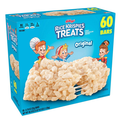 Kellogg's Rice Krispies Treats, 60 ct.