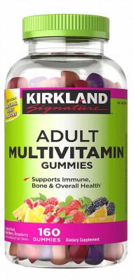 Жевательные мультивитамины Kirkland, 160 шт.