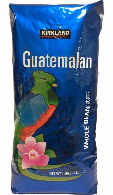 Кофе в зернах из Гватемалы Kirkland Signature, 1.36 кг