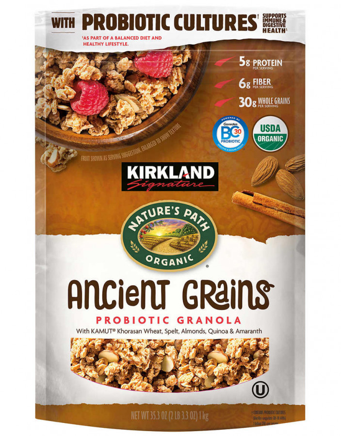 Kirkland Signature Organic Ancient Grain Granola, 35.3 oz