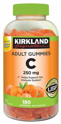 Жевательный витамин C Kirkland, 250 мг, 180 шт.