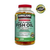 Kirkland Signature Wild Alaskan Fish Oil 1400 mg., 230 Softgels