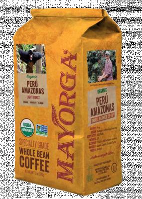 Кофе в зернах из Перу Mayorga Organics, 900 гр.