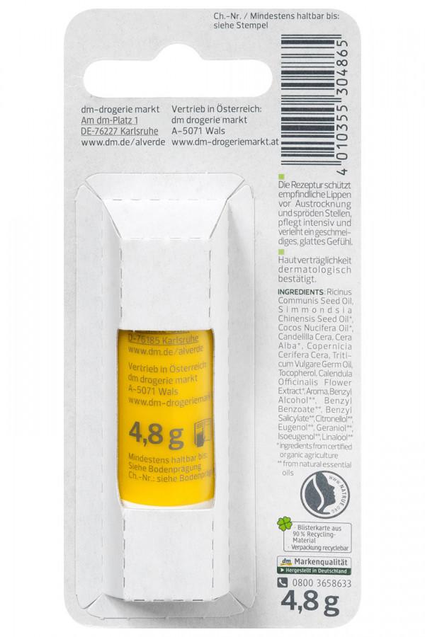 Lip Balm Bio-Calendula Alverde, 4,8 gr