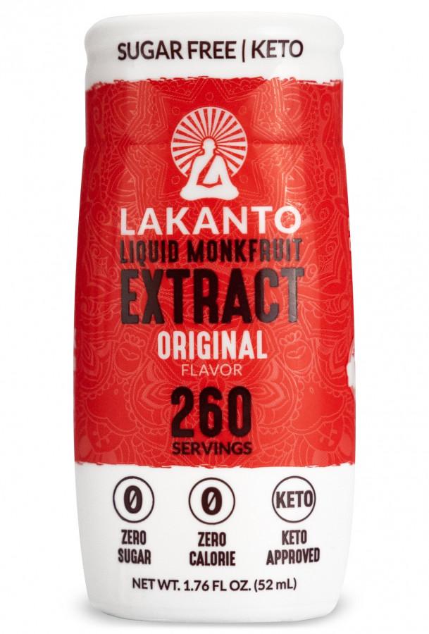 Жидкий подсластитель из фрукта монаха Lakanto, 52 мл