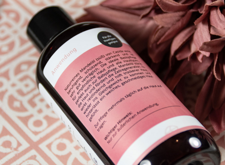 Mandelöl Haut & Haare naturrein Casida, 200 ml