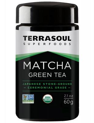 Зеленый чай матча Terrasoul, 60 г