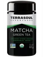 Зеленый чай матча Terrasoul