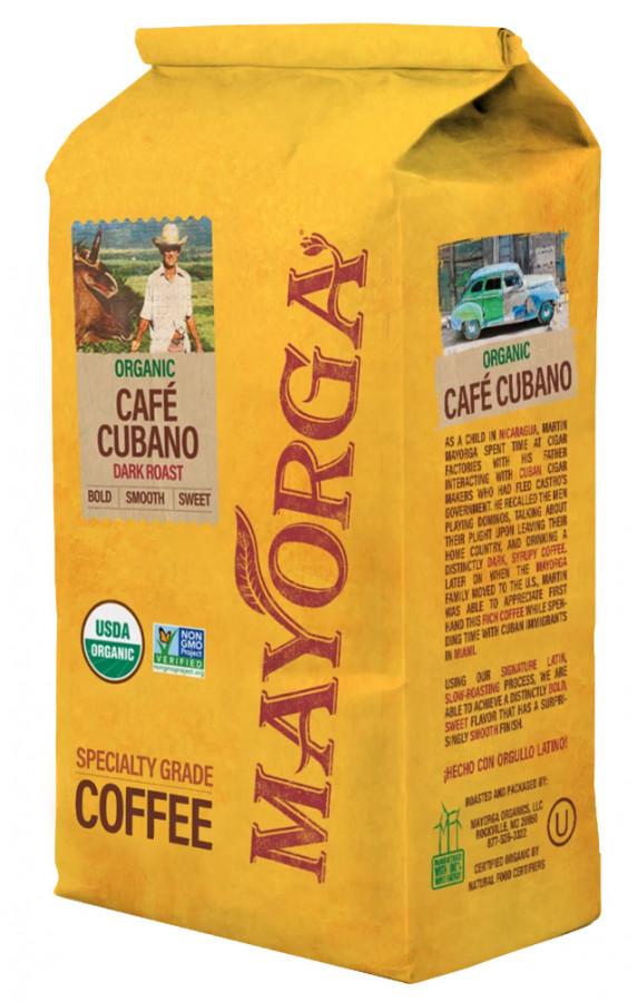 Кофе молотый Mayorga Organics Café Cubano, 900 г