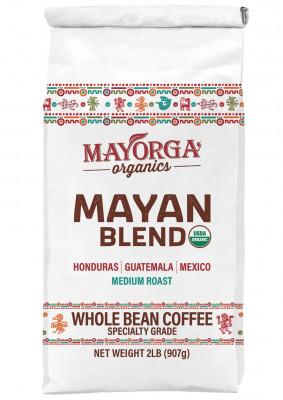 Кофе в зернах Mayan Blend Mayorga Organics, 900 г