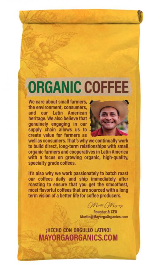 Mayorga Organics Perú Amazonas whole bean coffee, 2 lb.