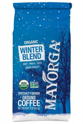 Кофе молотый Mayorga Organics Winter Blend, зимний купаж, 900 г
