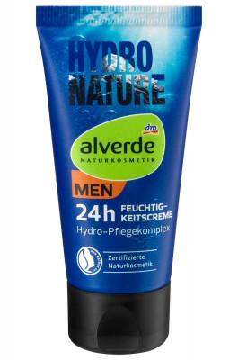 MEN Hydro Nature Feuchtigkeitscreme Bio-Aloe Vera Alverde, 50 ml