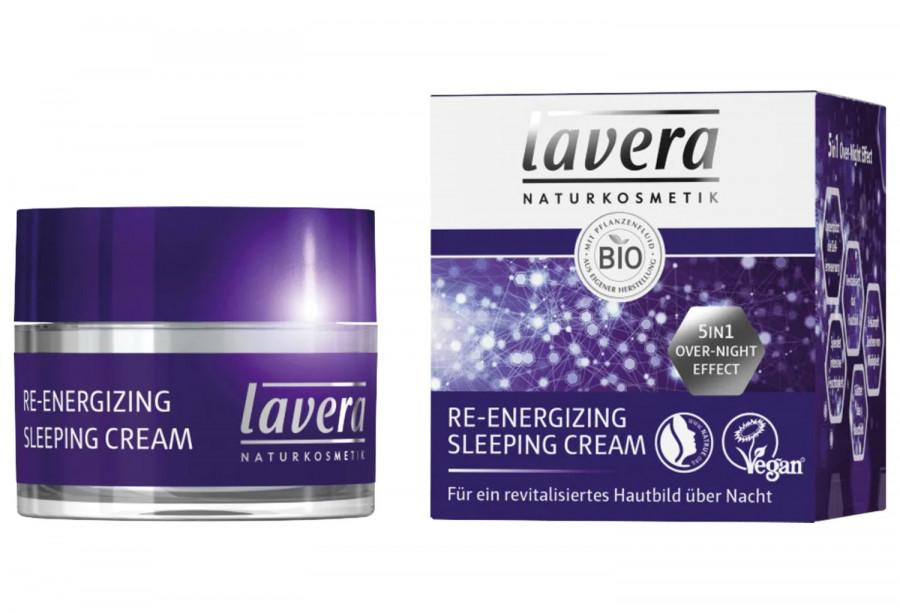Nachtcreme Re- Energizing Sleeping Cream Lavera, 50 ml