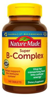 Комплекс витаминов B и С Nature Made, 140 капсул