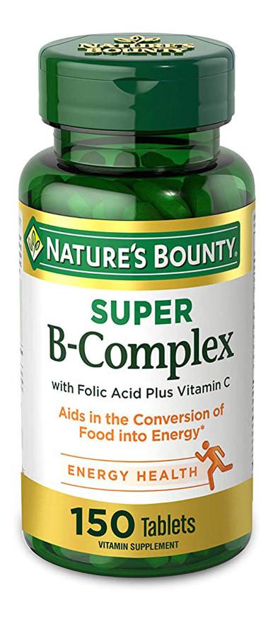 Витамин B c фолиевой кислотой и витамином C Nature's Bounty, 150 табл