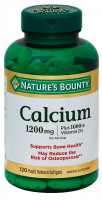 Nature's Bounty Кальций с витамином D3, 120 капсул