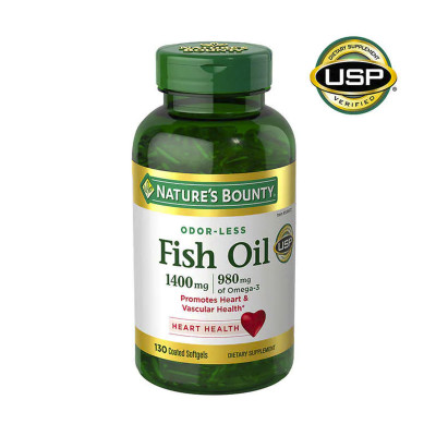 Nature's Bounty Fish Oil 1400 mg., 130 Softgels