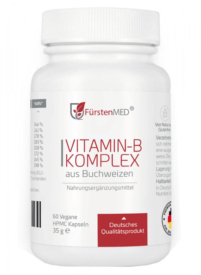 Комплекс витаминов B FürstenMED, 60 капсул
