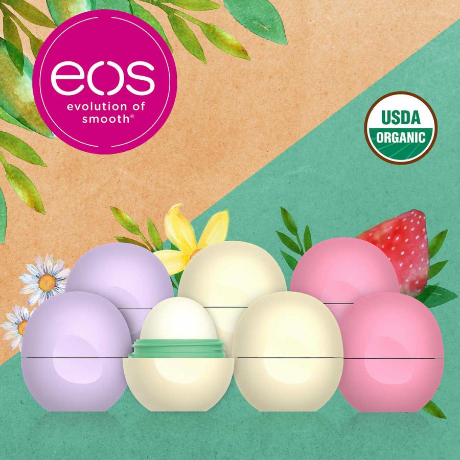 Натyральная гигиеническая помада EOS (USDA Organic), 7 шт.