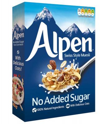 No added sugar Original Musli Alpen, 560g