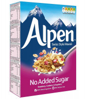 No Added Sugar Strawberry, Cranberry & Raspberry Alpen, 560g