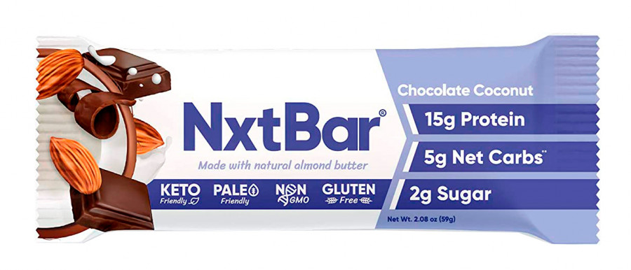 NxtBar Protein Bar Chocolate Coconut