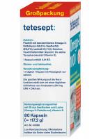 Omega-3 1000 mg tetesept, 80 capsules