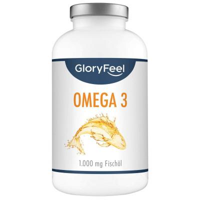 Омега-3 Gloryfeel, 400 капсул