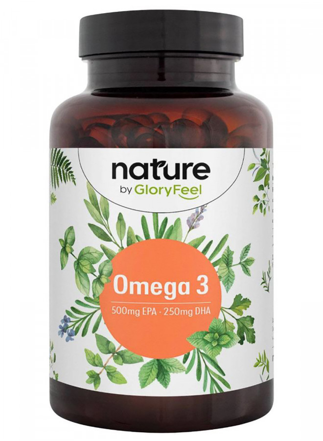 Omega 3 nature GloryFeel, 120 Kapseln