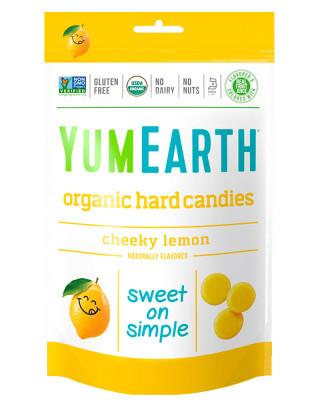 Organic Cheeky Lemon Hard Candies YumEarth