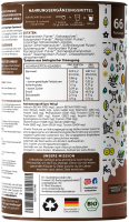 Organic Chocolate Vegan PROTEIN Volksshake, 1 kg