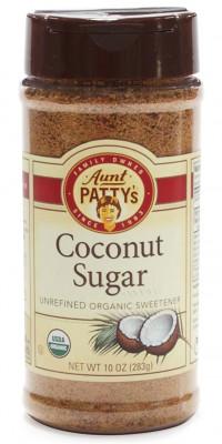 Organic Coconut Sugar, fine sifted Aunt Patty's