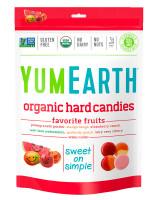 Organic Favorite Fruit Hard Candies YumEarth, 3.3 oz