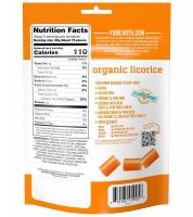 Organic gluten free peach licorice, YumEarth, 5 oz