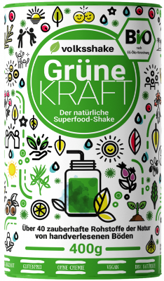 Organic Green Power Volksshake, 400 g