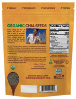 100% органические семена чиа Organic Mayorga, 450 г
