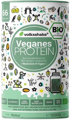 Органический и веганский протеин без добавок Volksshake, 1 кг