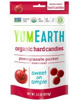 Organic Pomegranate Hard Candy YumEarth, 3.3 Ounce
