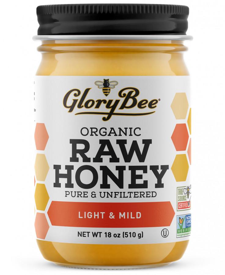 Легкий и мягкий органический мед GloryBee, 510 г