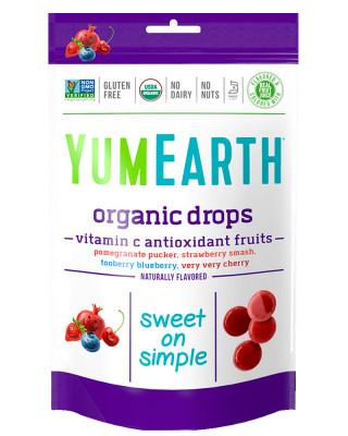 Органические леденцы с витамином С YumEarth, 93.6 г