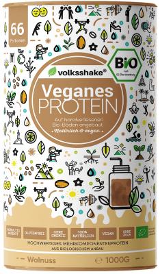 Веганский протеин c грецким орехом Volksshake, 1 кг