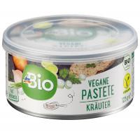 Pastete Kräuter, vegan dmBio, 125 g
