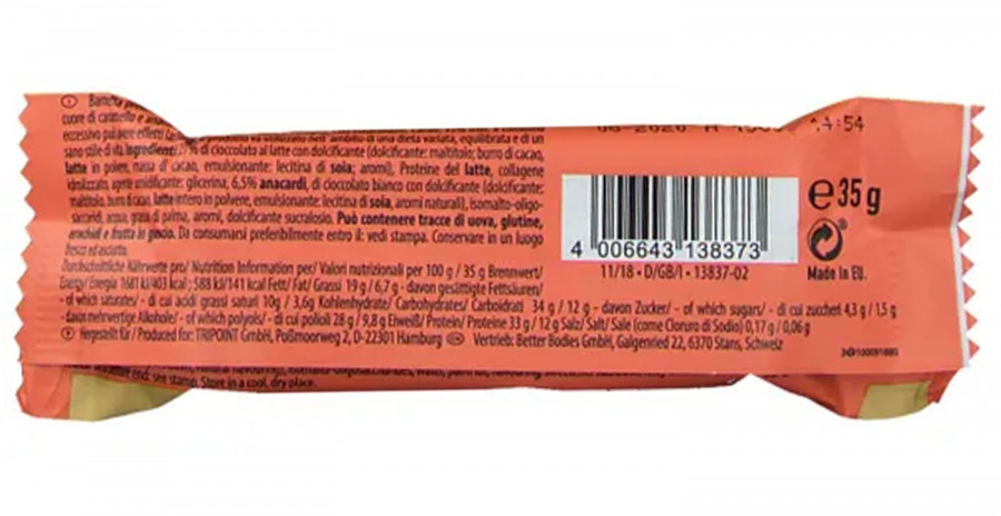 Protein Delight, Vanilla-Cashew-Caramel Multipower, 35 g